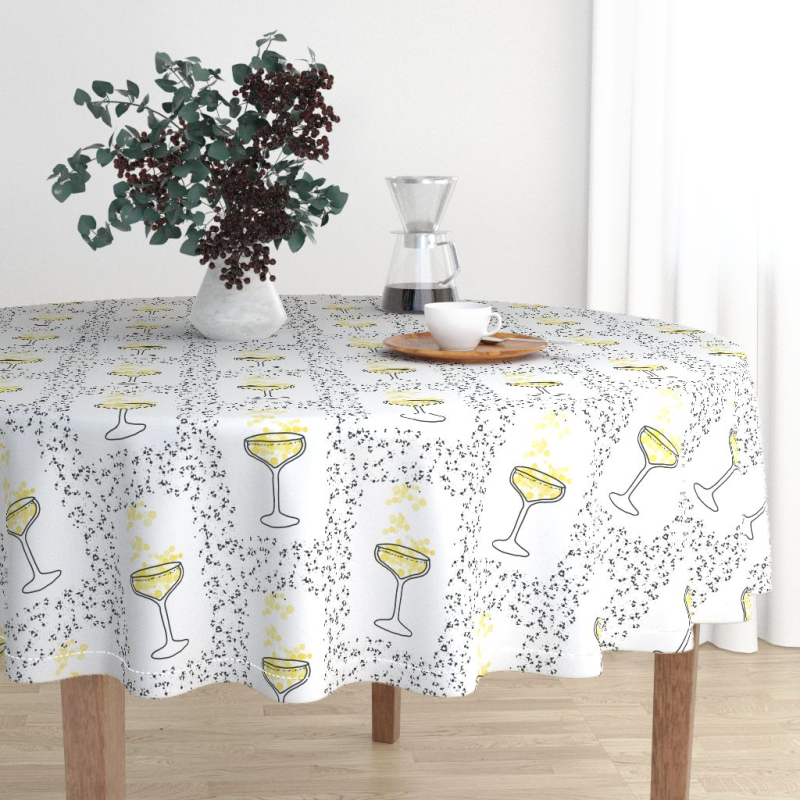 Retro-bar-round-tablecloth