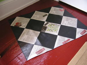 Bookreviewfloorcloth